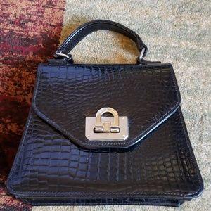 Cute Vintage Style Black Handbag